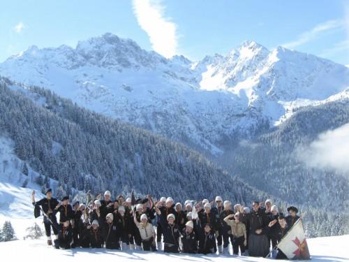 La troupe alpine 1ère Chamalières au rallye Montagne 2012