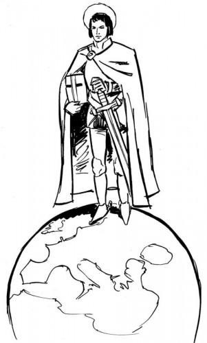 St Georges, patron des scouts