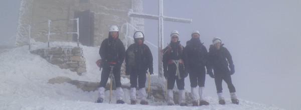 L'Aigle est parti à l'ascension du mont Thabor