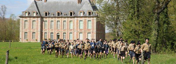 Les troupes parisiennes en camp de Pâques