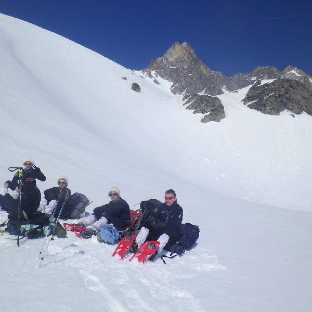 Pause au pied du Mont Thabor